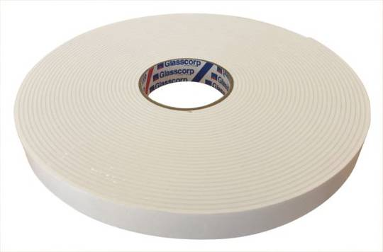 DOUBLE SIDED TAPE - 0.8MM X 18MM X 66M