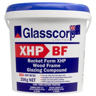 GLASSCORP XHP-BF W/GLAZING COMPOUND 20KG