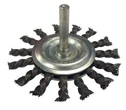 KNOTTED STEEL WHEEL BRUSH