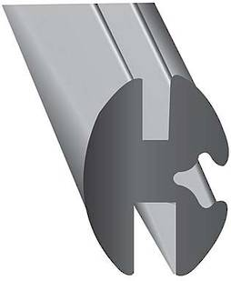 AUTO WEATHER STRIP (6.4mm/1.6mm) - 25m