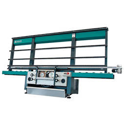 DOUBLE SPINDLE EDGING MACHINE