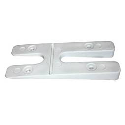 H PACKERS SLOPED - WHITE (100 pack)