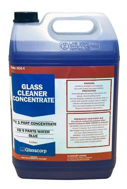 GLASS CLEANER CONCENTRATE - 5L