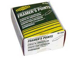 FLETCHER FRAMER'S POINTS (3000 pack)