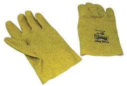 FUZZY DUCK GLOVES - LARGE