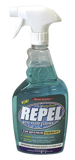 REPEL GLASS CLEANER - 740ml
