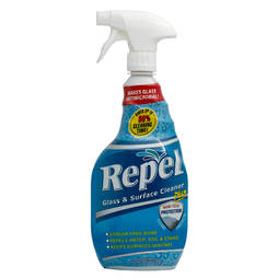 REPEL GLASS & SURFACE CLEANER - 739ml