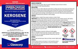 KEROSENE - 1L LABEL