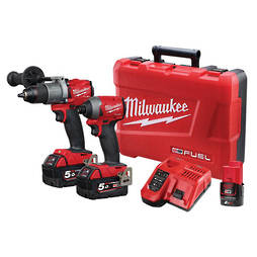 MILWAUKEE M18 HAMMER DRILL/IMPACT DRIVER