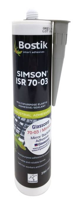 MS 70-03 SEALANT/ADHESIVE - BLACK 300ml