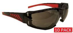 SAFETY GLASSES GREY (10 pack)