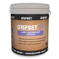 GRIPSET 11Y - LATEX WATERPROOF ADDITIVE
