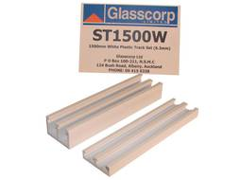 PLASTIC SLIDING TRACK SET - 1500mm