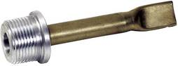 BRASS NOZZLE WITH NO ADAPTER  - STRAIGHT
