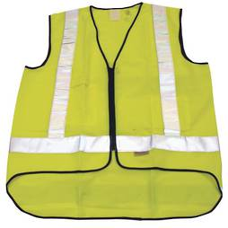 YELLOW SAFETY VEST - MEDIUM