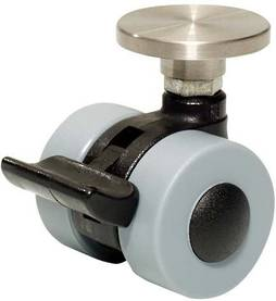 ROLLER CASTOR WITH LOCKING DEVICE