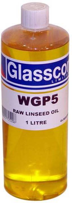 RAW LINSEED OIL - 1 LITRE