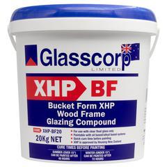 XHP-BF WOODFRAME GLAZING COMPOUND - 20kg