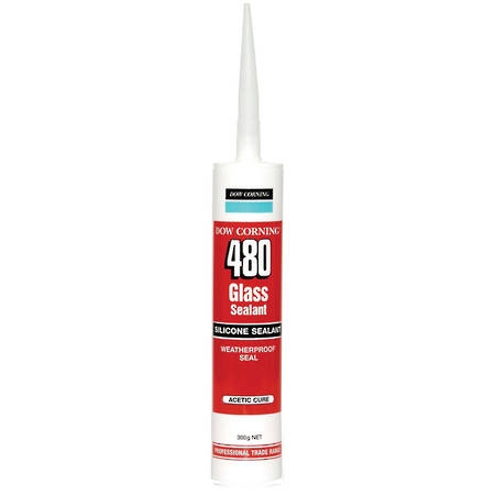 DOW CORNING 480 Acetoxy Silicone Trans 300ml