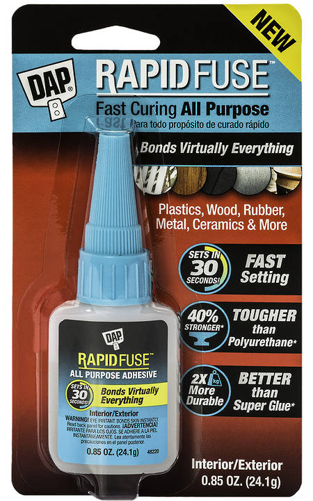 DAP Rapid Fuse All-Purpose Adhesive 25ml