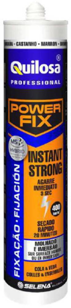 QUILOSA Professional Power Fix Instant Strong Black 280ml