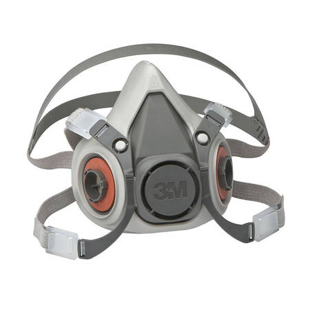 3M 6000 Respirator Mask Rubber