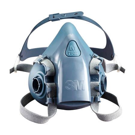 3M 7500 Respirator Mask Silicone