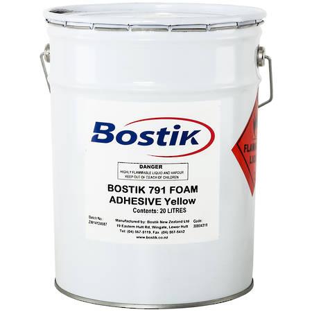BOSTIK 791 Contact Adhesive Yellow 20ltr
