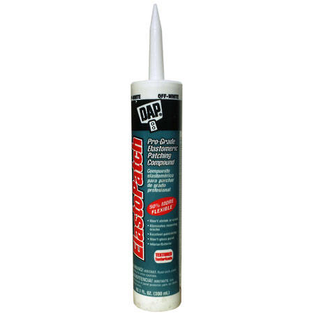 DAP Elastopatch Textured Off White Cartridge 300ml