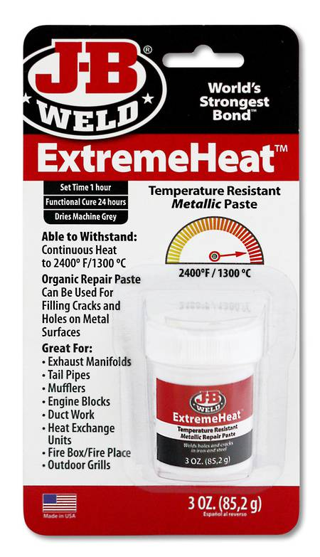 JB Weld Extreme Heat Metallic Paste 85.2 gm