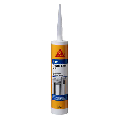 SIKA Crystal Clear MS Clear 300ml Cartridge