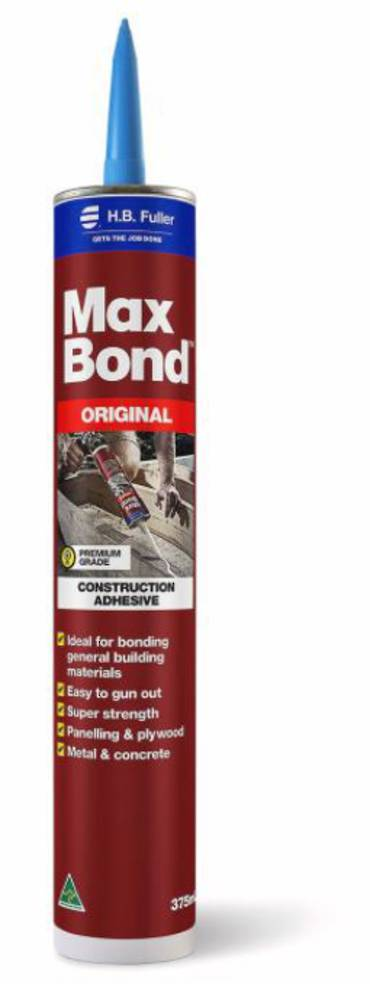 FULLERS Maxbond Adhesive 375ml Cartridge