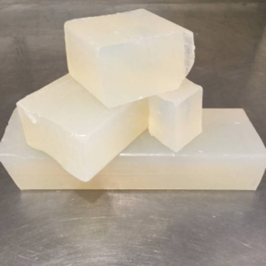 Clear organic melt & pour soap base