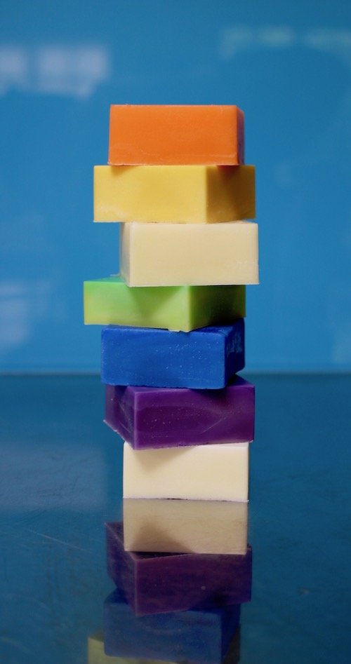 tower of gluten free conditioner bars