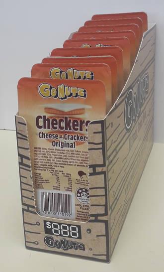 Cheese & Crackers 40g - 10pk Display