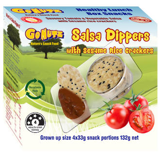 Dippers Salsa 4x33g portions