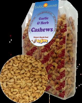 Cashews Garlic & Herb Roasted Salted - 1kg 1pk