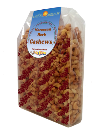 Cashews Moroccan Herb Roasted Salted - 1kg 1pk