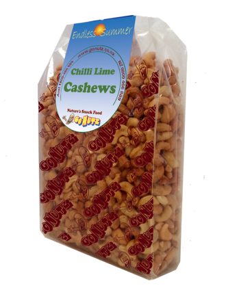 Cashews Chilli Lime Roasted Salted - 1kg 1pk