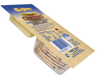 Cheese & Rice Crackers GF 35g - 16pk Display