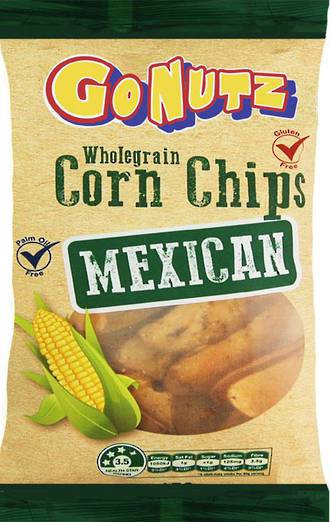 Corn Chips Wholegrain Mexican GF 150g - 6 box display