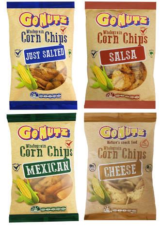 Corn Chips Wholegrain 12x150g VARIETY box