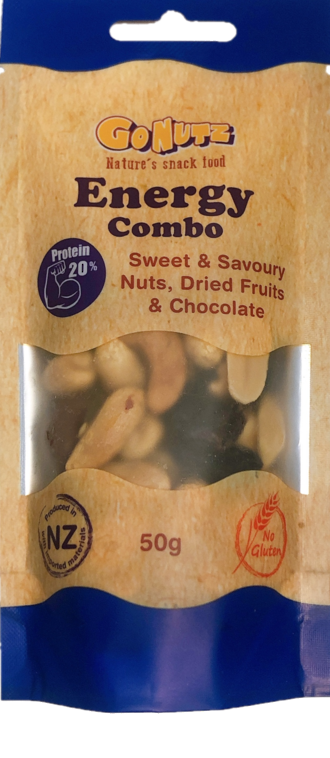 Energy Combo  Pouch 50g - 12 Tray