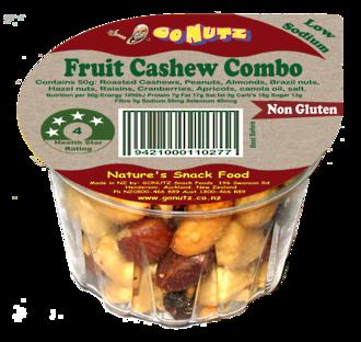 Fruit Cashew Combo Tub 50g - 12 Tray