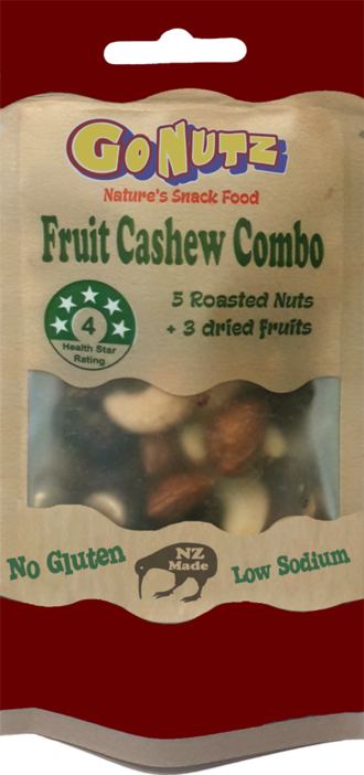 Fruit Cashew Combo  Pouch 40g - 12 Tray