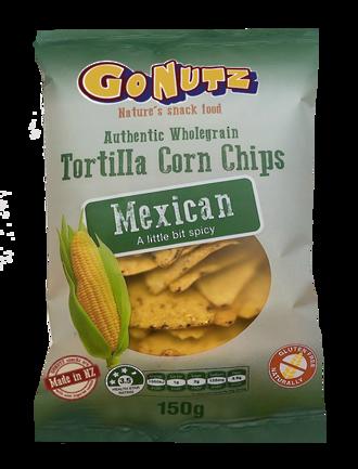 Corn Chips Wholegrain Mexican GF 150g - 6 box display
