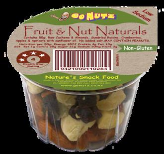 Nut Naturals Fruit & Nut Tub 50g - 18 Ctn