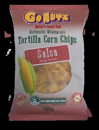 Corn Chips Wholegrain Salsa GF 150g - 12 Units