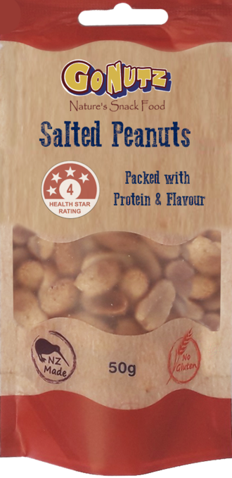 Salted PEANUTS 50g - 12 Tray