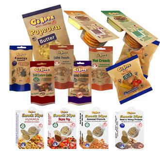 GONUTZ Healthy Snacks Sampler Box